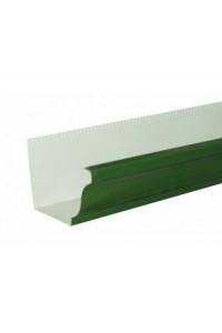 Желоб водосточный 120*86*3000мм зеленый