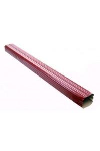 Труба водосточная 76*102*3000мм красное вино