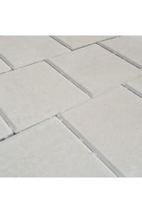 Тротуарная плитка Квадрат средний 200*200*40мм белая