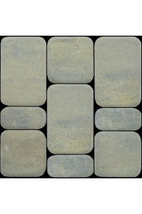 Тротуарная плитка Классико Песчаник 40мм