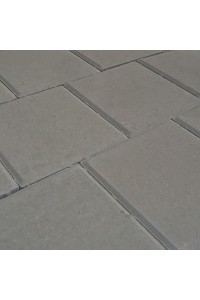 Тротуарная плитка Квадрат средний 200*200*60мм серая