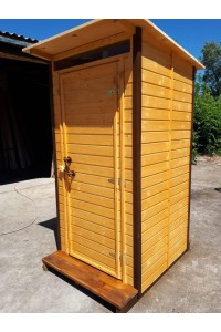 Туалет с плоской крышей