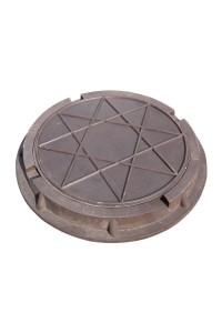 Люк полимерно-композитный легкий 460*60*25мм коричневый