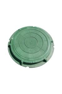 Люк полимерно-композитный легкий 460*60*25мм зеленый