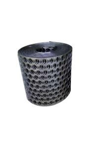 Высечка стальная 20см черная (15п.м)