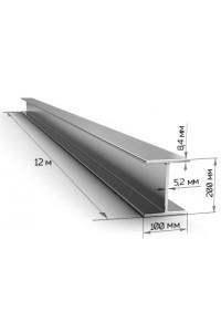 Балка стальная двутавровая 200мм