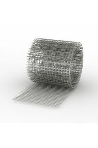 Сетка сварная 0.5*50м (ячейка 1.2*50*50мм) стальная оцинкованная