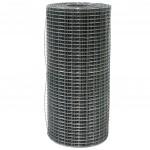 Сетка сварная 1.5*50м (ячейка 1.6*50*50мм) стальная