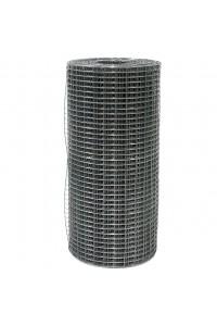 Сетка сварная 1*50м (ячейка 1.2*50*50мм) стальная оцинкованная