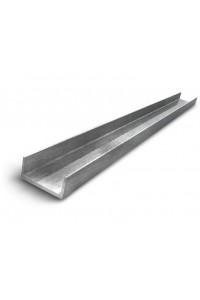 Швеллер стальной 80мм П-образный