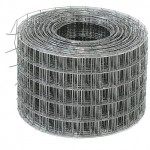 Сетка сварная 0.5*50м (ячейка 1.6*50*50мм) стальная