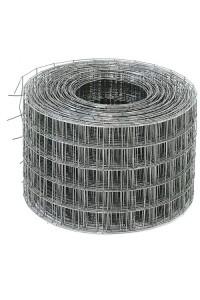 Сетка сварная 0.3*25м (ячейка 1.2*25*25мм) стальная оцинкованная