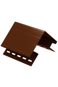 Наружный угол Ю-Пласт кирпич коричневый 3.05м