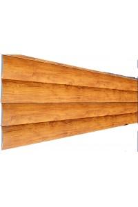 Сайдинг Блок-хаус 3D-Wood 367*1800мм/367*1500мм