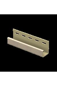 J-планка Ю-Пласт ПВХ ясень золотистый 3.05м