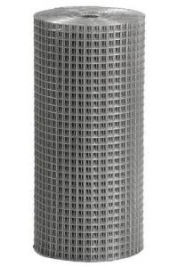 Сетка сварная 1.5*50м (ячейка 1.2*25*50мм) стальная оцинкованная