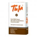 Клей ТиМ 37 Люкс высокой фиксации белый (25кг)