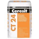 Штукатурка цементная Ceresit CT24 фасадная (25кг)