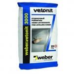 Смесь для пола Вебер Vetonit 3000 Пол наливной суперфинишный  (20кг)