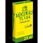 Стяжка для пола уплотняемая Toiler TL104 (25кг)