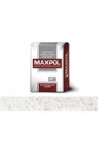 Кладочный раствор Maxpol Цветной белый (25кг)