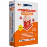 Смесь шамотная Plitonit СуперКамин ТермоКладка (20кг)