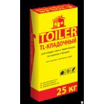 Кладочный состав для блоков и кирпича Toiler TL (25кг) белый