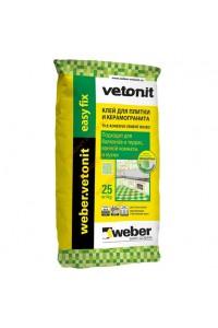 Клей для плитки Вебер Vetonit Easy Fix (25кг)