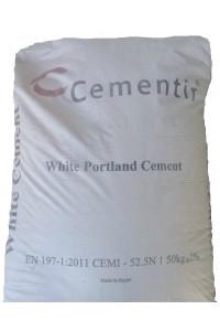 Цемент М600 Египетский CEM I 52.5N белый
