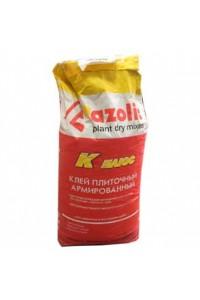 Клей для плитки Азолит-К-Плюс армированный (25кг)
