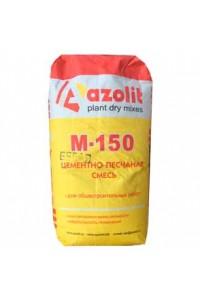 Смесь цементно-песчаная Азолит-М-150 белая (25кг)