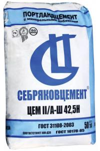 Цемент M500 Себряковский (50кг)