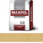 Кладочный раствор Maxpol, желтый, 25 кг