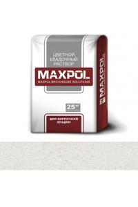 Кладочный раствор Maxpol, белый, 25 кг