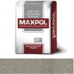 Кладочный раствор Maxpol, цементно-серый, 25 кг