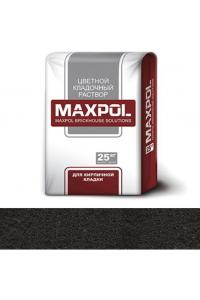 Кладочный раствор Maxpol, черный, 25 кг