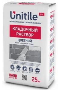 Кладочный раствор Unitile Цветной, серый, зимний, 25 кг