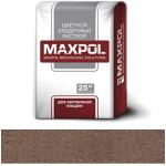 Кладочный раствор Maxpol, коричневый, 25 кг