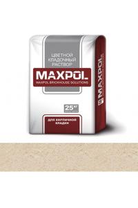Кладочный раствор Maxpol, кремовый, 25 кг