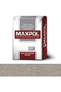 Кладочный раствор Maxpol, светло-серый, 25 кг