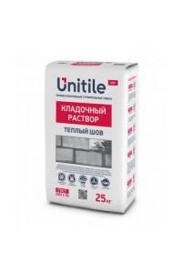 Кладочный раствор Unitile Теплый шов серый (25кг)