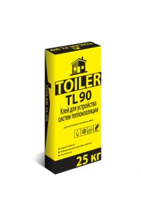 Клей для устройства систем теплоизоляции Toiler TL90 (25кг)
