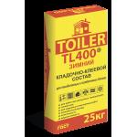 TOILER TL 400 ЗИМНИЙ кладочно-клеевой состав 25 кг