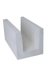 Блок газобетонный Светлоградский Грас 500*250*250 п-образный