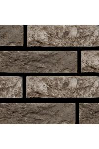 Кирпич Богандинский керамический Стелс, серый, Eco WDF, облицовочный