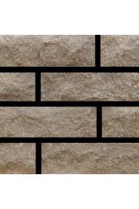 Кирпич Мегалит угловой коричневый скала 1НФ гиперпрессованный облицовочный (одинарный)