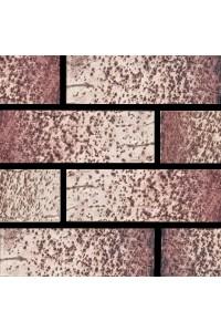 Кирпич Губский керамический Бежевый коричневый ангоб, 1НФ, облицовочный