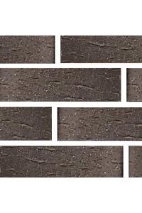 Кирпич Губский керамический Коричневый чёрный ангоб, 1НФ, облицовочный