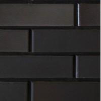 Кирпич Recke керамический черный 1НФ (одинарный) облицовочный