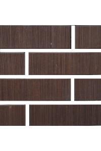 Кирпич Керма керамический коричневый бархат 1НФ (одинарный) облицовочный